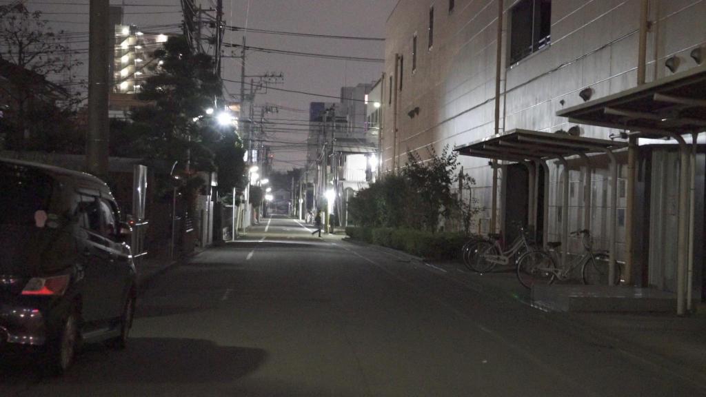 夜間サンプル